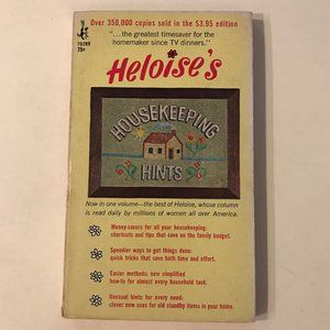 VINTAGE Heloise's Housekeeping Hints